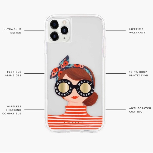 Rifle Paper Co. Hello Gorgeous IPhone X XS Case